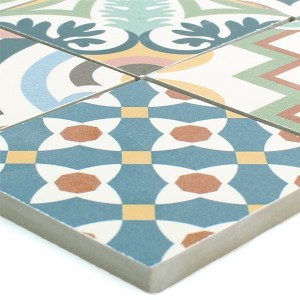 Ceramic Mosaic Retro Tiles Utopia Colored R10/B
