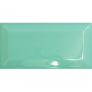Metro Wall Tiles Colombo Aqua Green 10x20cm
