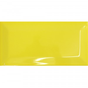 Metro Wall Tiles Colombo Yellow 10x20cm
