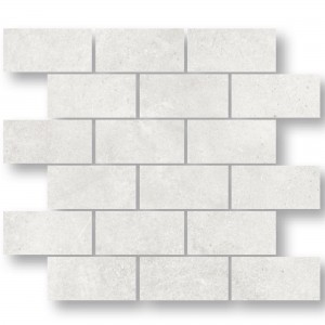 Mosaic Tiles Oregon White Rectangle
