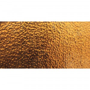 Metro Glas Wall Tiles Subway Copper Mirage Corrugated 7,5x15cm
