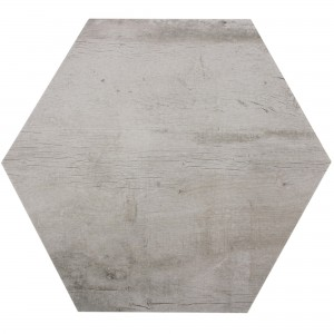 Floor Tiles Lonicera Wood Optic Hexagon Grey 52x60cm