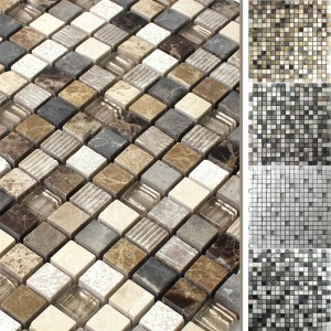 Mosaic Tiles Austin Glass Natural Stone