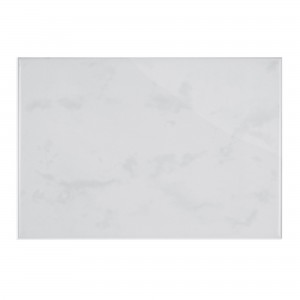 Wall Tile Strande Marbled 15x20cm Grey Glossy