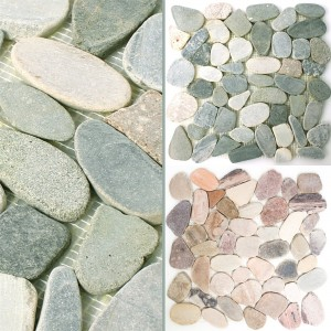 Mosaic Tiles River Pebbles Natural Stone Kos
