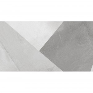 Wall Tiles Queens Rectified White Decor 2 30x60cm