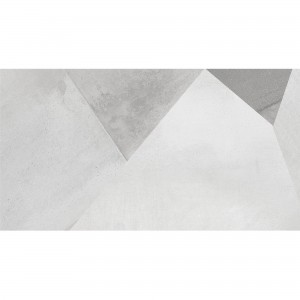 Wall Tiles Queens Rectified White Decor 3 30x60cm