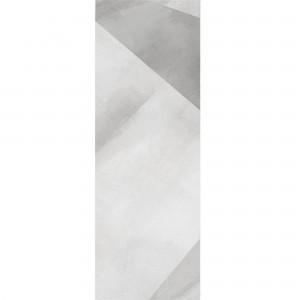 Wall Tiles Queens Rectified White Decor 1 30x90cm