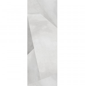 Wall Tiles Queens Rectified White Decor 4 30x90cm