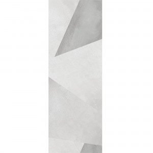 Wall Tiles Queens Rectified White Decor 7 30x90cm