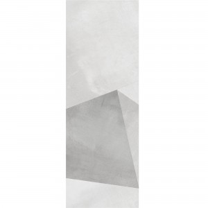 Wall Tiles Queens Rectified White Decor 8 30x90cm