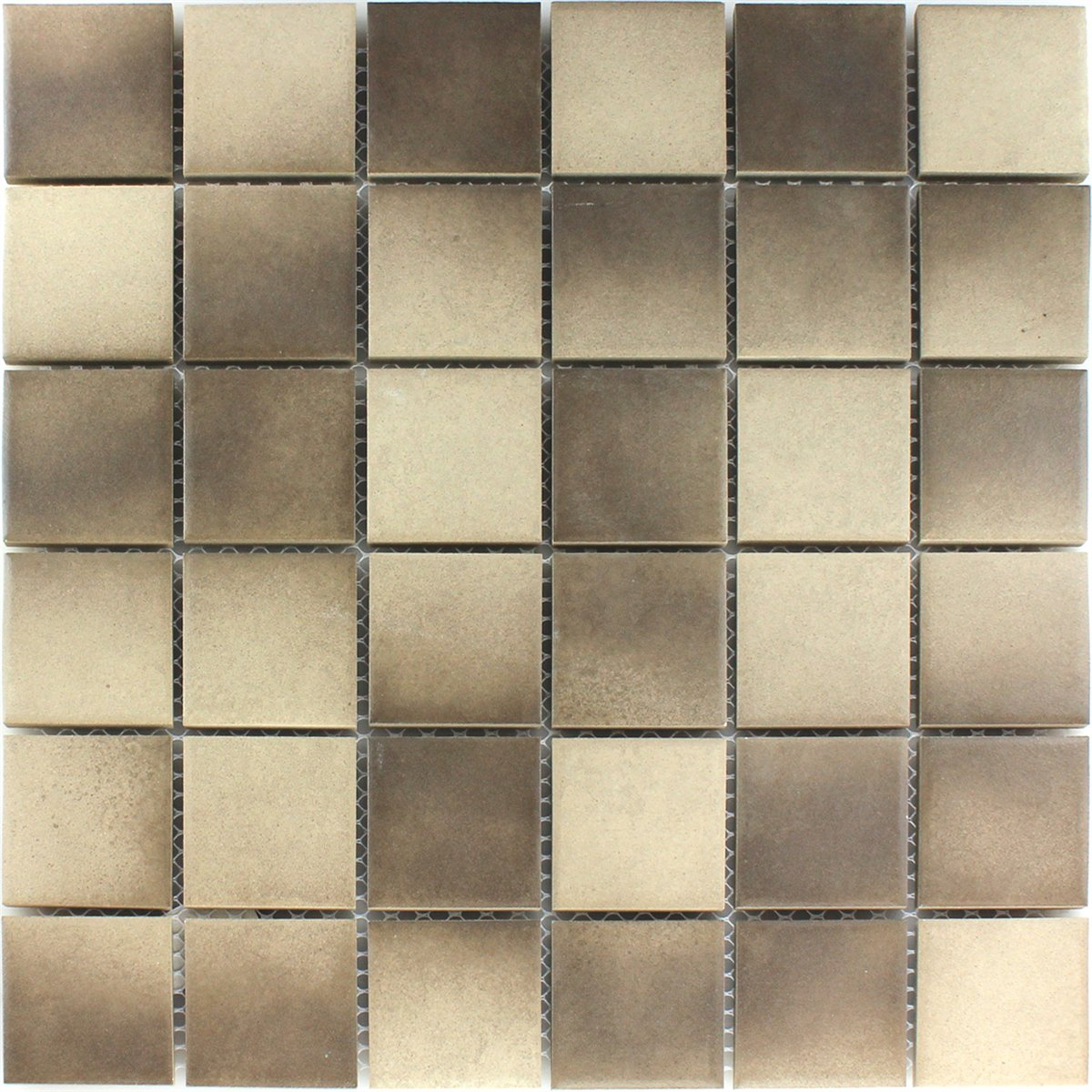 Ceramic mosaic tiles non slip beige brown mosafil mosaic tiles ceramic non slip beige brown dailygadgetfo Image collections