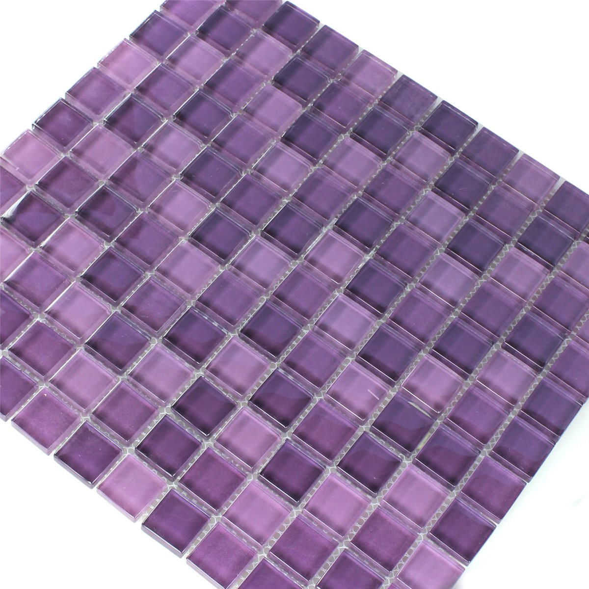 Crystal Glass Mosaic Tiles Purple Mix Www Mosafil Co Uk