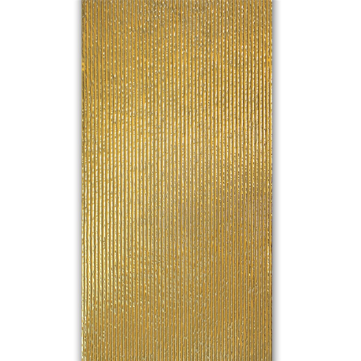 Wall Decor Tiles Gold Ribbed 30x60cm Www Mosafil Co Uk
