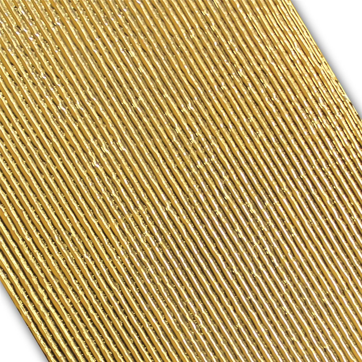 Wall Decor Tiles Gold Ribbed 30x60cm | www.mosafil.co.uk