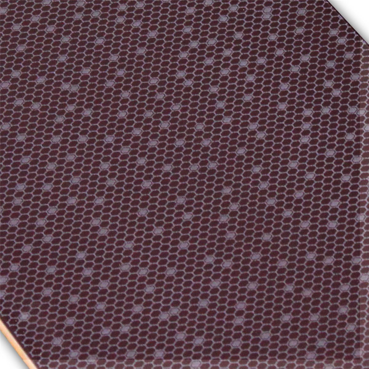 wall tiles honeycomb purple glossy 25x50cm. Black Bedroom Furniture Sets. Home Design Ideas