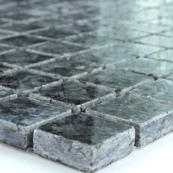 granite mosaic tiles blue pearl 23x23x8mm tk15006m. Black Bedroom Furniture Sets. Home Design Ideas