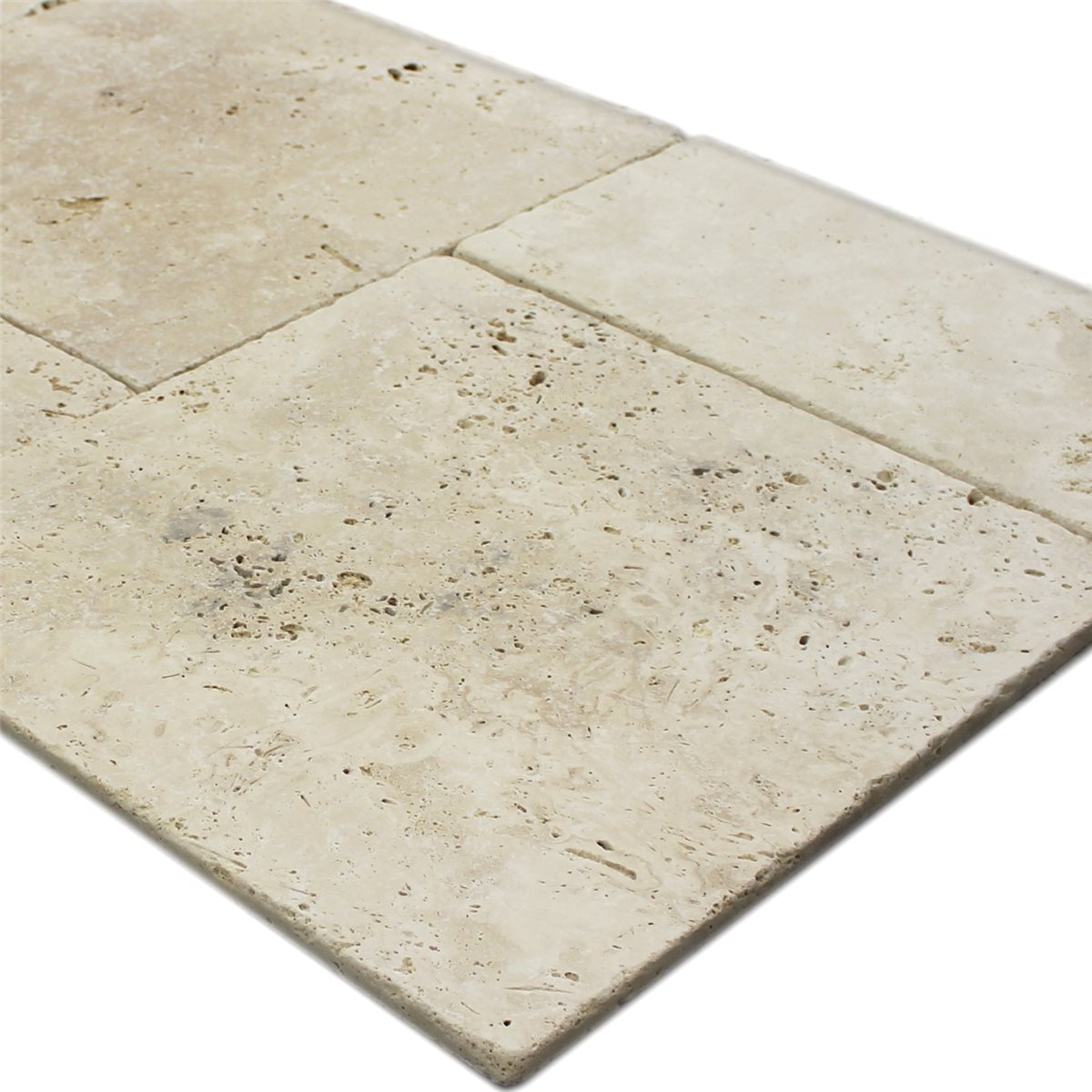 Travertine Tiles Roman Pattern Classico Beige - TM33323