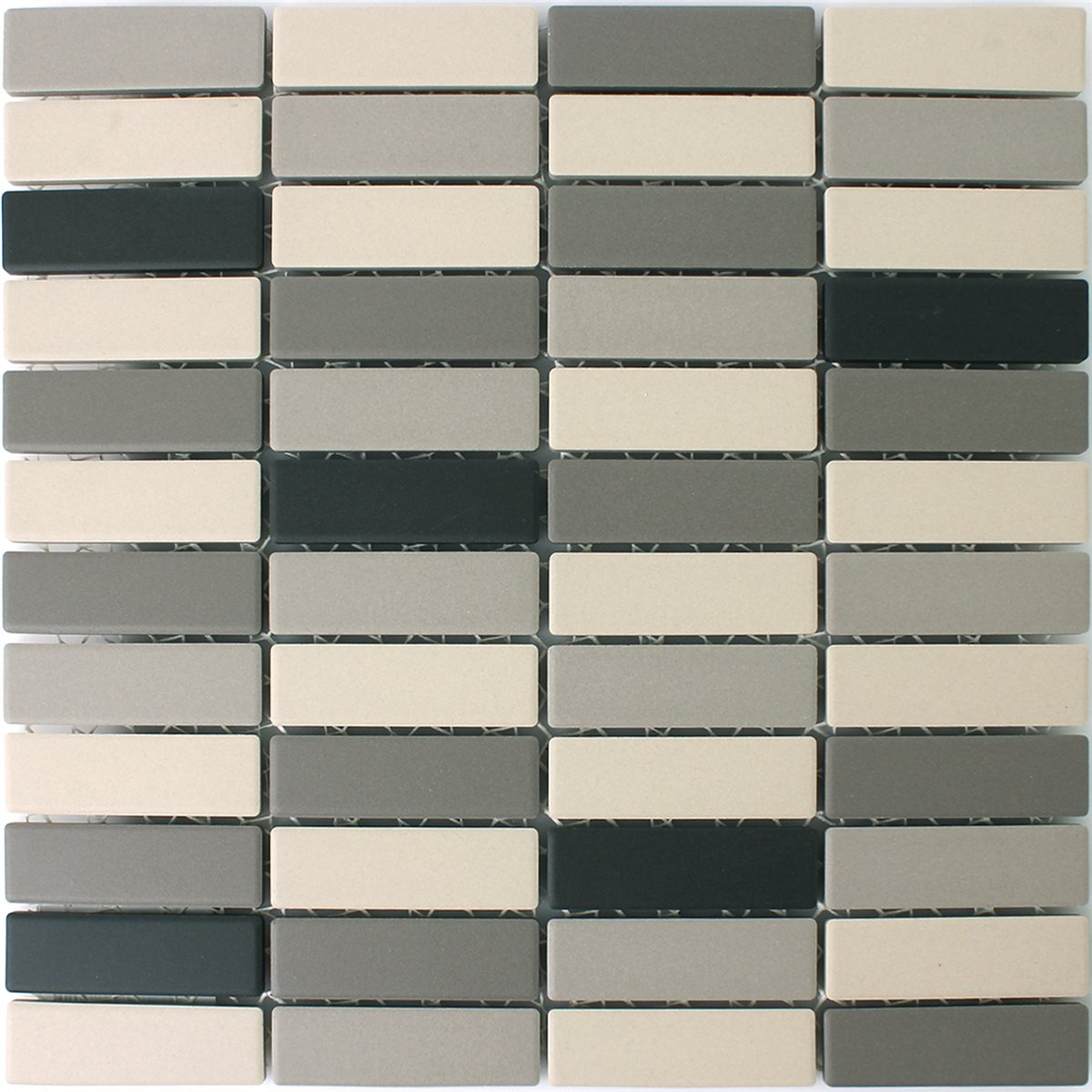 Ceramic Mosaic Tiles Multimix Blue Grey Tm33334